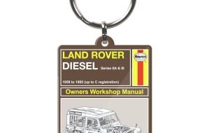 Haynes Manual Land Rover Key Ring