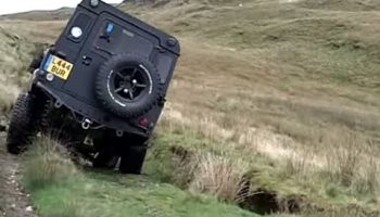 Green Laning at Happy Valley & Bearded Lake, Wales in Defenders & Pinzgauer – Part2
