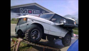 Range Rover Classic Bobtail Build