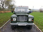 LAND ROVER SERIES 3 SWB DIESEL TRUCK CAB WITH GALVANISED CHASSIS