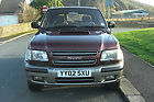 2002 Isuzu Trooper 4×4 Citation 3.0 Turbo Diesel 6 Seater Taxed and Tested