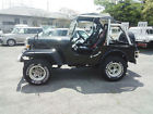 MITSUBISHI JEEP J53 WILLYS 2.7 DIESEL 4X4 SOFT TOP ON OFF ROAD ONLY 25000 miles