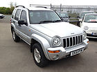 Jeep Cherokee 2.5 CRD Limited, Diesel, 96,000 Miles, 4×4, Full MOT, Leather.