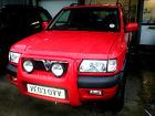 Vauxhall Frontera 2.2DTi  Sport RS 4×4 turbo Diesel