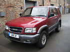 ISUZU TROOPER  MANUAL BRILLIANT 4X4 TOW VEHICLE TOTALLY RELIABLE 2 OWNERS FSH
