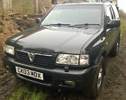 03 VAUXHALL FRONTERA SPORT OLYMPUS BLACK 4×4 SWB Some Modified Off Roading 57k