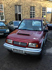 2000 SUZUKI VITARA JX 4 U HARD-TOP RED only 78k long mot