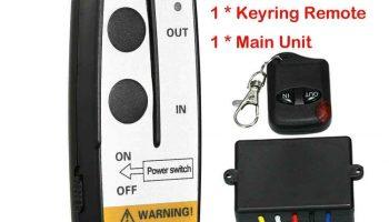 Auto 12V winch wireless remote control truck jeep ATV warn 50 feet controller