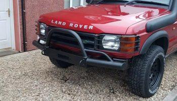 Landrover Winch Bumper  Discovery 200 Tdi 300 Tdi Td5