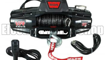 Warn VR Evo 10-S 12v Synthetic Electric Winch with Wireless