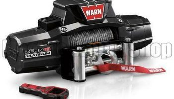 Warn Zeon Platinum 10 12v Electric Winch with Steel Rope