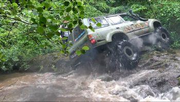 Toyota Land Cruiser HDJ 80 – TOSUN – Extreme OFF-ROAD / Rocks