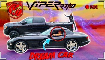 OFFROAD AL BUYS DREAM CAR  DODGE VIPER RT ? CERAMIC COATED MY 2021 DODGE RAM 3500 DUALLY