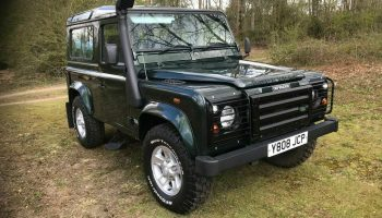 2001 Land Rover Defender 90 2.5 TD5 County 3dr