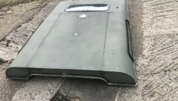Defender 90 station wagon roof 1996
