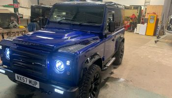 land rover defender 90 tdci county