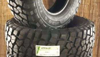 265 70 17  INSA TURBO RISKO MUD TERRAIN  TYRES ONLY X4 DELIVERED PRICE