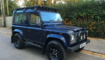 Land Rover Defender 90 2003 TD5 XS Oslo Blue