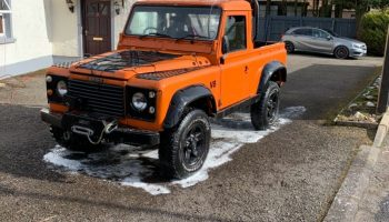 Project Land Rover Defender 90 1986