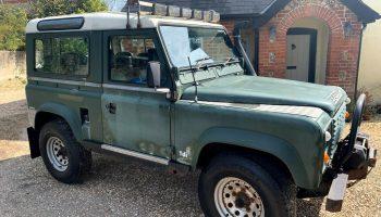 Land Rover Defender 90 B reg 1984 Diesel Manual 200TDi  – Needs MOT