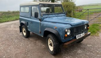 Land Rover defender 90 TDI, completely rebuilt by a landrover specialist in 1997