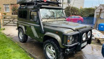 1996 300TDI Land Rover Defender 90 Genuine County station wagon