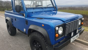 Land Rover Defender 90 300 Tdi pickup  Total rebuild on a galvanised chassis