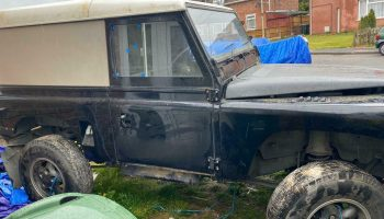 land rover defender 90 spares repairs project restoration galvanised chassis
