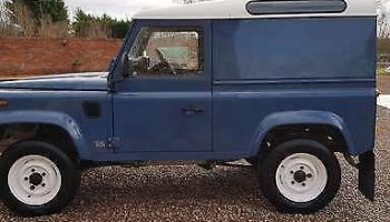 Land Rover Defender 90 1991  2.5 TDi Hard Top