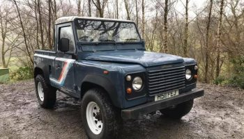1991 Land Rover Defender 90 (200Tdi) Pickup for Sale —  USA exportable