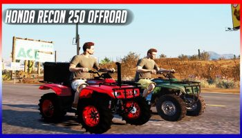 BASHING HONDA RECON 250 ATV OFFROAD WITH FRIENDS! – GTA 5 Roleplay – OURP