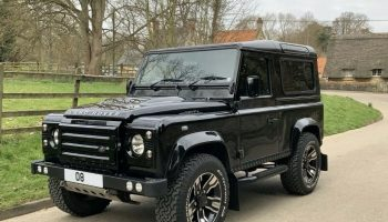 2008 Land Rover Defender 90 XS Full Service History