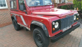 Landrover defender 90 country 300tdi