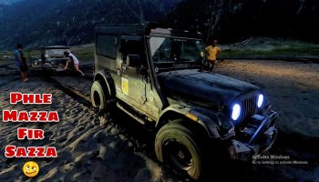 Offroad went seriously wrong   Four vehicles stuck at the same time   Thar700,  MM550,Scorpio, Jeep