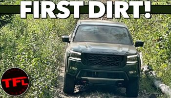 Here's Your First Look At The 2022 Nissan Frontier Pro-4X Off-Road! Should Toyota Be Worried?