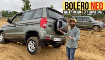 Mahindra Bolero Neo Walkaround & Off-Road Drive