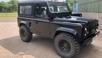 Land Rover defender 90 200tdi galvanised chassis no mot