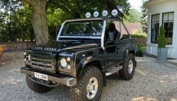 2009 Land Rover Defender 90 2.4 TDI 26,600 miles only