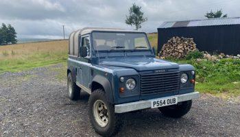 Defender 300tdi 90 galvanised chassis – 300tdi Land Rover – landrover tdi – 4×4