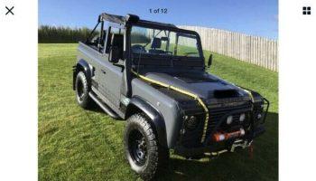 1984 B reg Land Rover Defender 90 300Tdi SWB