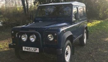 Land Rover Defender 90 TDi (Galvanised Chassis)