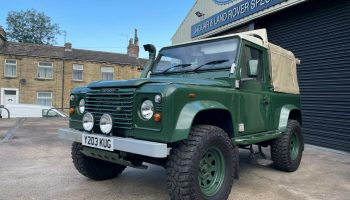 Land Rover Defender TD5 90 Pick up
